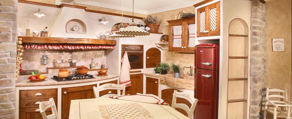 Outlet cucina in muratura calathea gruppo l 39 artigiano arredamenti - Cassetti per cucine in muratura ...