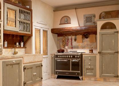 Outlet cucina in muratura calathea gruppo l 39 artigiano - Cappa cucina laterale ...